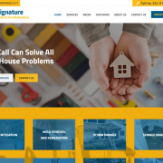 Сайт компании по восстановлению помещений после чрезвычайных помещений